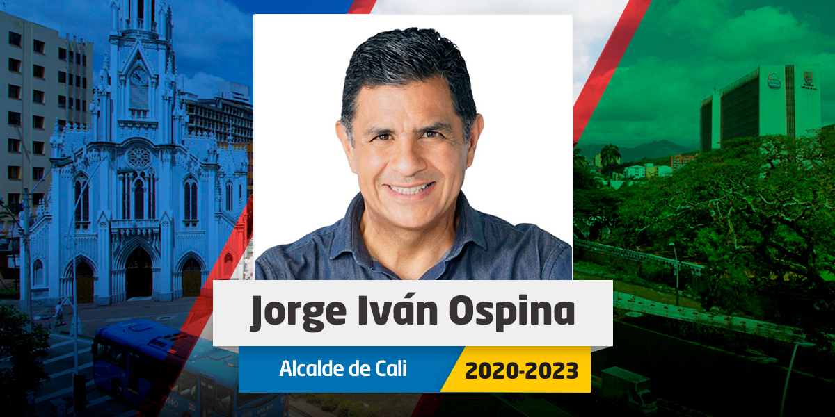 Jorge Iván Ospina se queda con la Alcaldía de Cali
