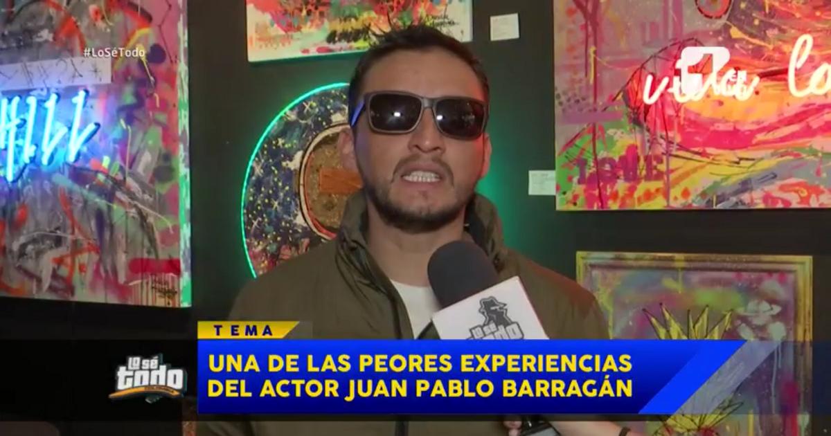 Actor denuncia que, tras altercado con celador, no pudo presentar varios casting