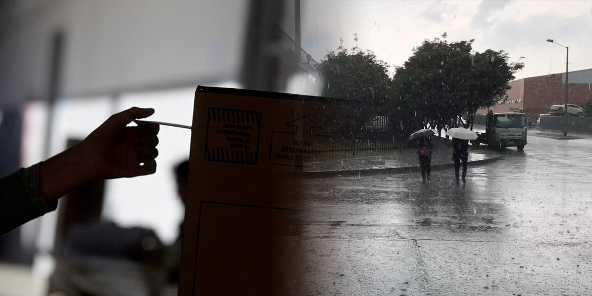 Este domingo de elecciones aliste el paraguas para salir a votar