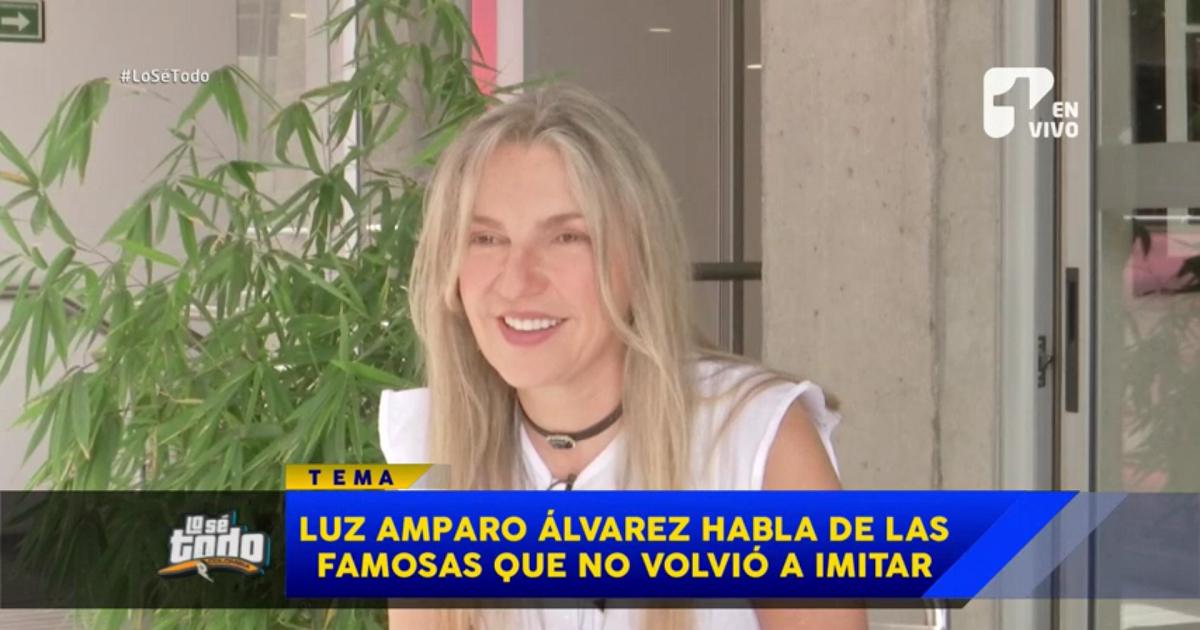 Las famosas que Luz Amparo Álvarez no volvió a imitar por reclamos