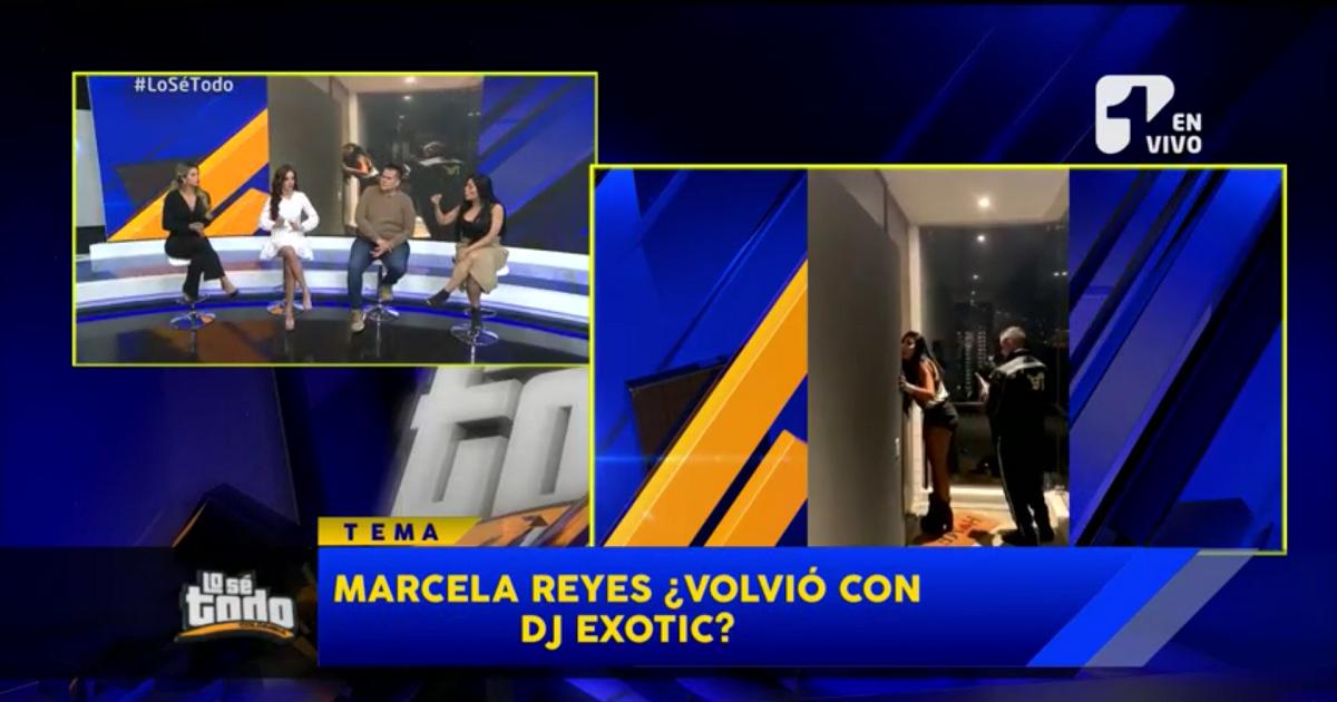 ¿Marcela Reyes volvió con el DJ Exotic? Eso dicen en redes y aquí lo aclaramos