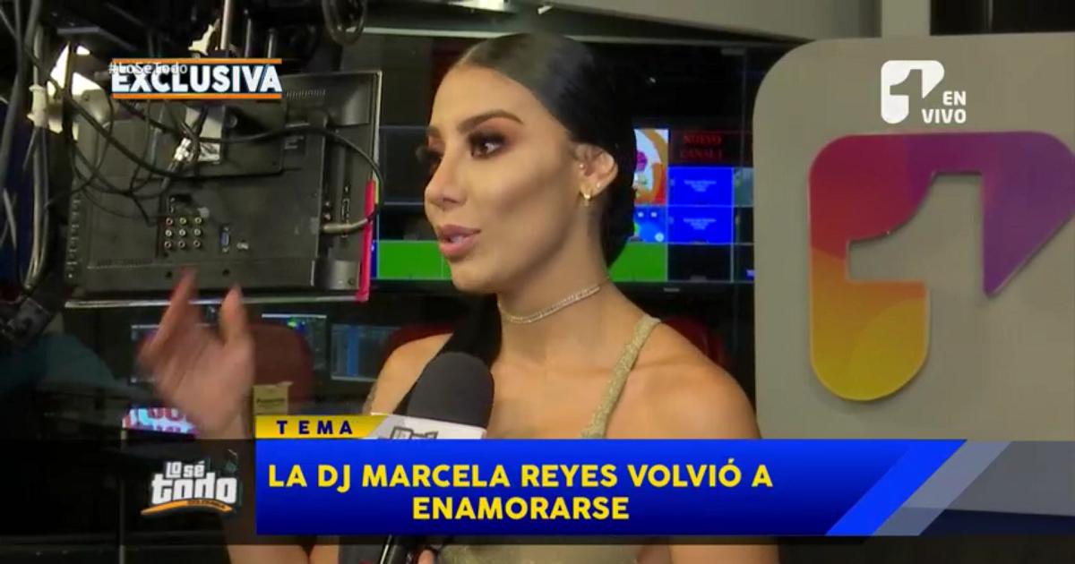 DJ Marcela Reyes confirmó a Lo Sé Todo que volvió con un ex