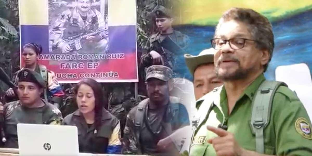Disidencia de las Farc en Antioquia se une al grupo de 'Iván Márquez'