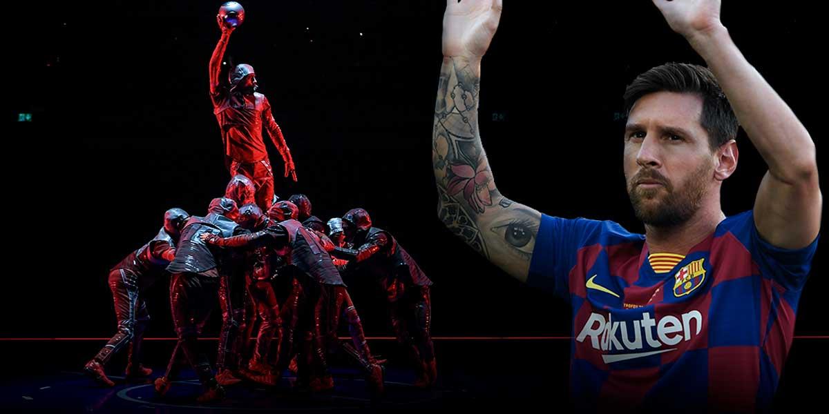 Dos gigantes en escenario: así contará el Circo del Sol la magia de Lionel Messi