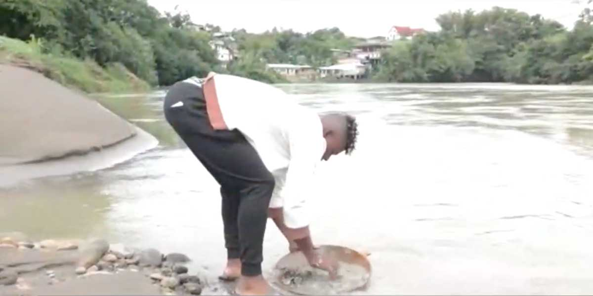 Mineros artesanales de Chocó piden oportunidades para sobrevivir