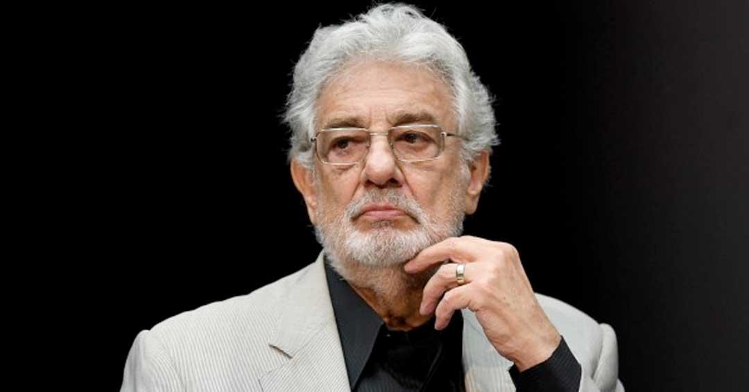 Plácido Domingo renuncia a la Ópera de Los Ángeles en medio de señalamientos de acoso sexual