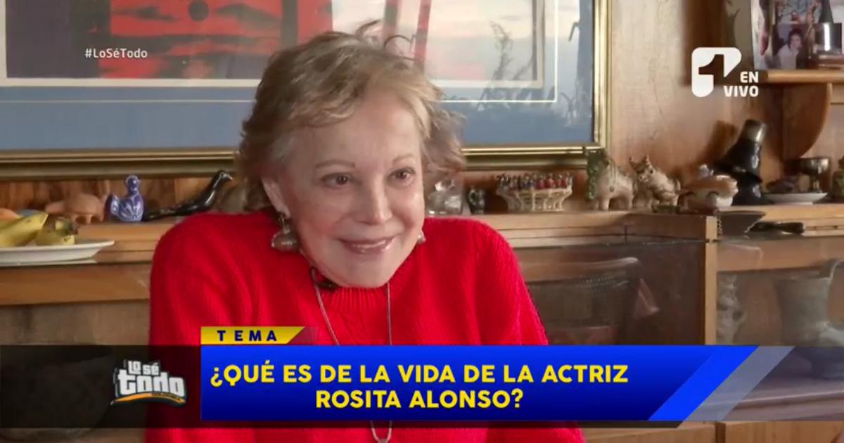 ¿Qué es de la vida de la actriz Rosita Alonso?