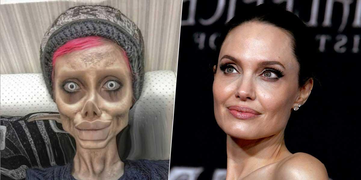 Arrestan a la 'Jolie zombi' por blasfemia y corrupción de la juventud en Irán