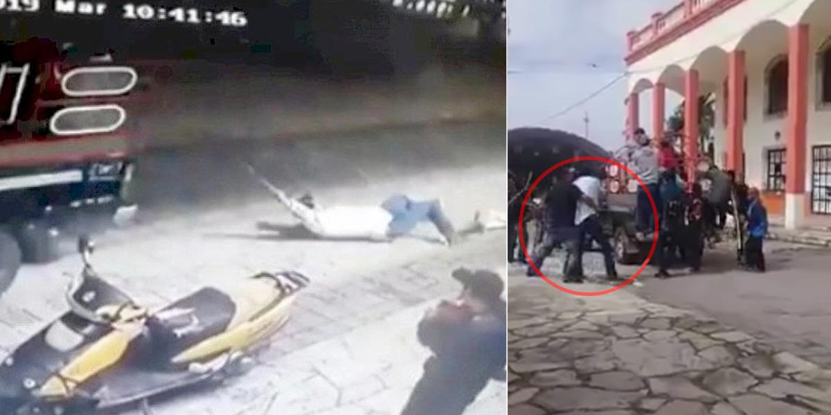 Video: arrastran con un carro a alcalde mexicano que no cumplió promesa electoral