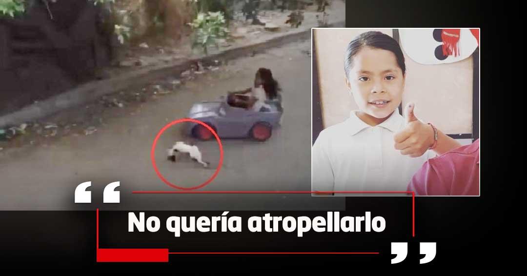 Primeras declaraciones de la niña del video viral en el que atropella a un gato
