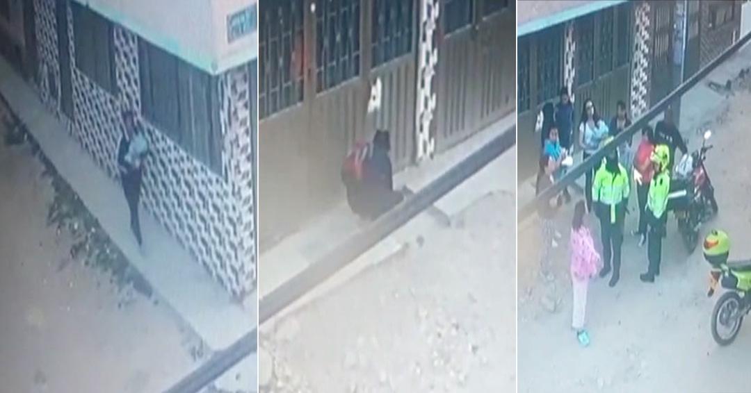 Video | Mujer abandona a recién nacida en la localidad de Kennedy de Bogotá