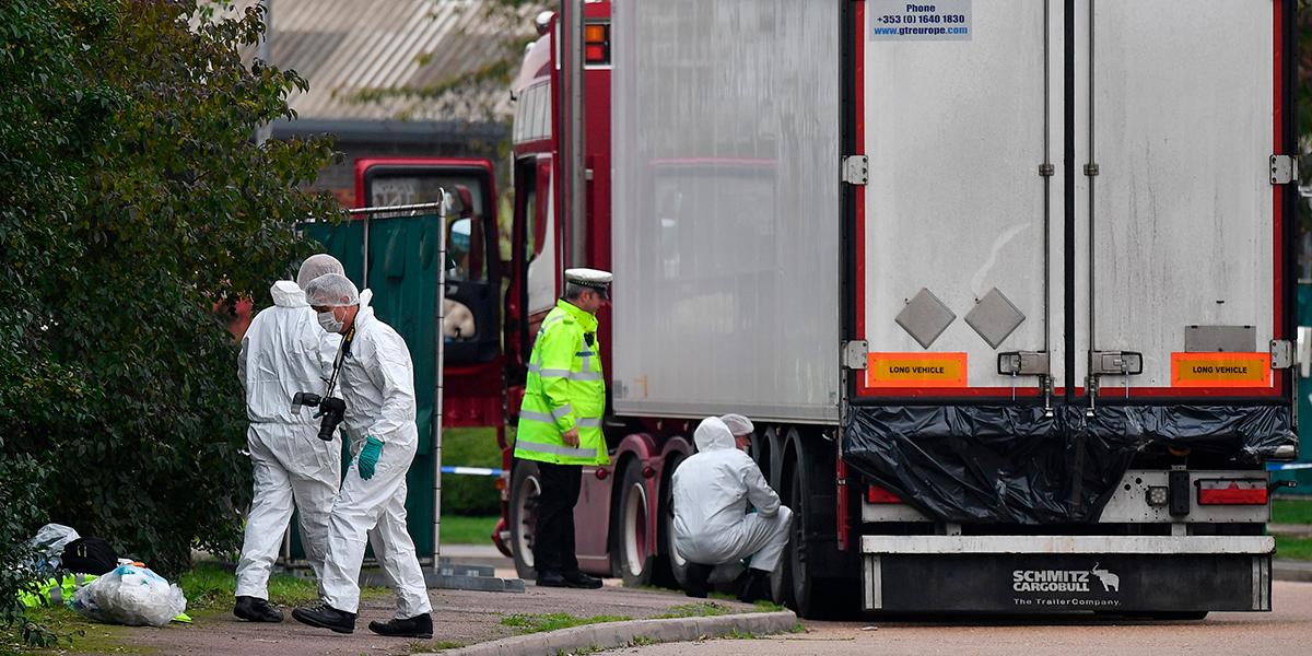 Nuevos perturbadores detalles sobre el camión hallado en Londres con 39 cadáveres: todos son de una misma nacionalidad