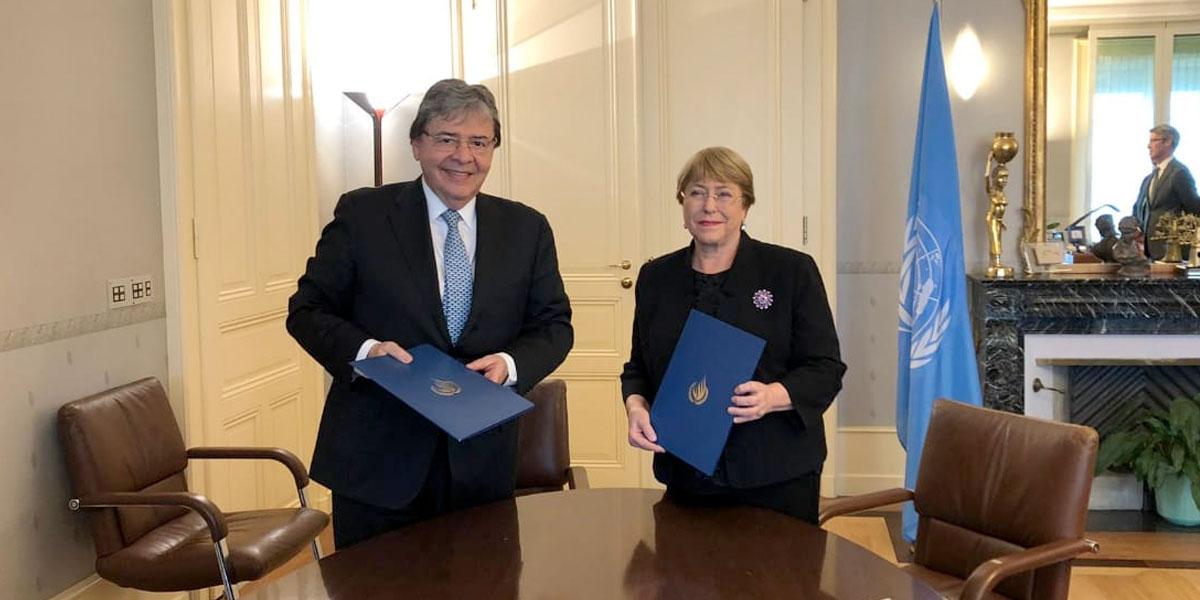 Colombia renovó mandato de la Oficina del Alto Comisionado de DD.HH. de la ONU