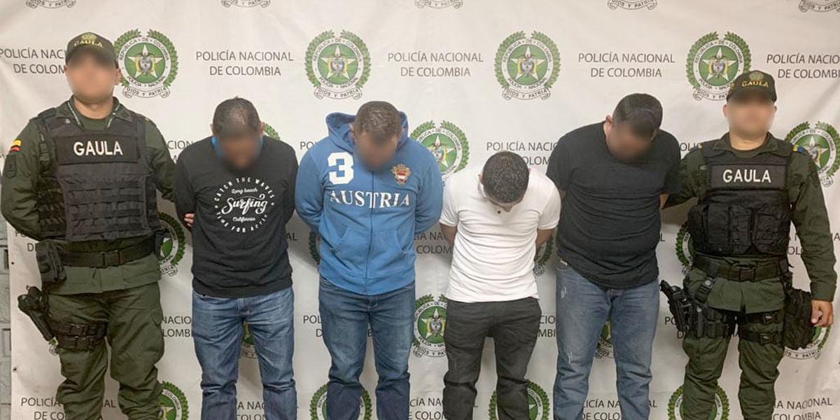 Duro golpe a estructuras criminales en Bello, Antioquia