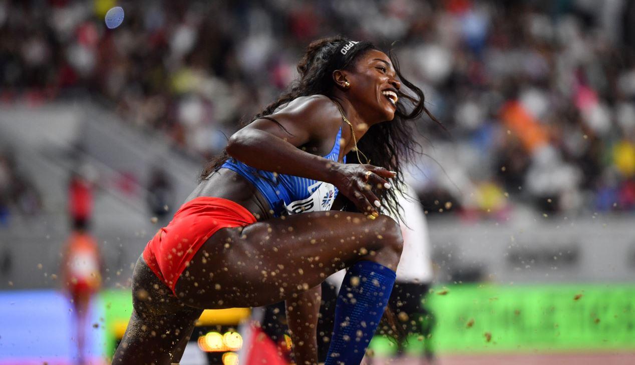 ¡Orgullo nacional! Caterine Ibargüen se quedó con el bronce en salto triple