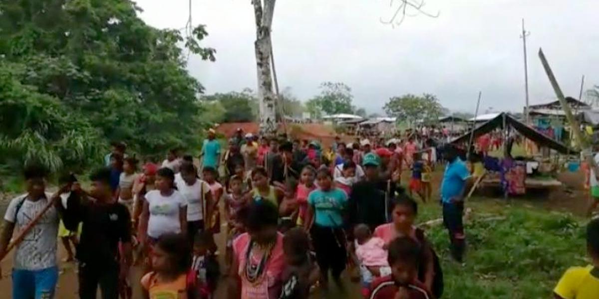 Más de 2.200 habitantes de Bojayá están confinados: Defensoría del Pueblo