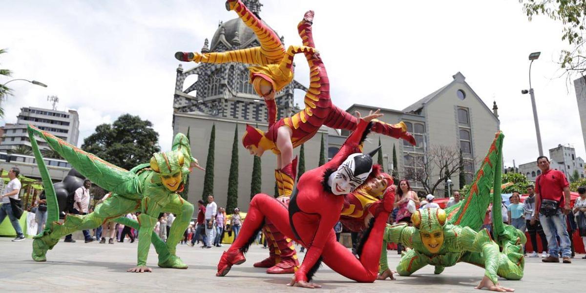 Llegó a Medellín el Circo del Sol, el show artístico más importante del mundo
