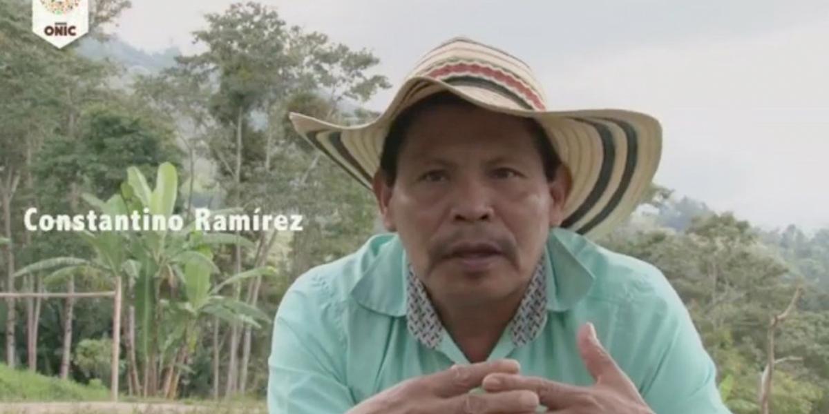 ONIC denuncia el asesinato de un líder indígena Embera en el Quindío