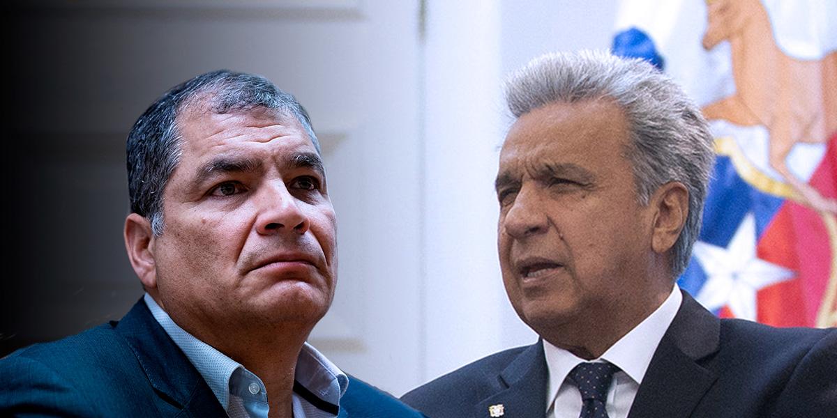 Rafael Correa le pidió a Lenín Moreno convocar elecciones en las que él mismo iría como candidato