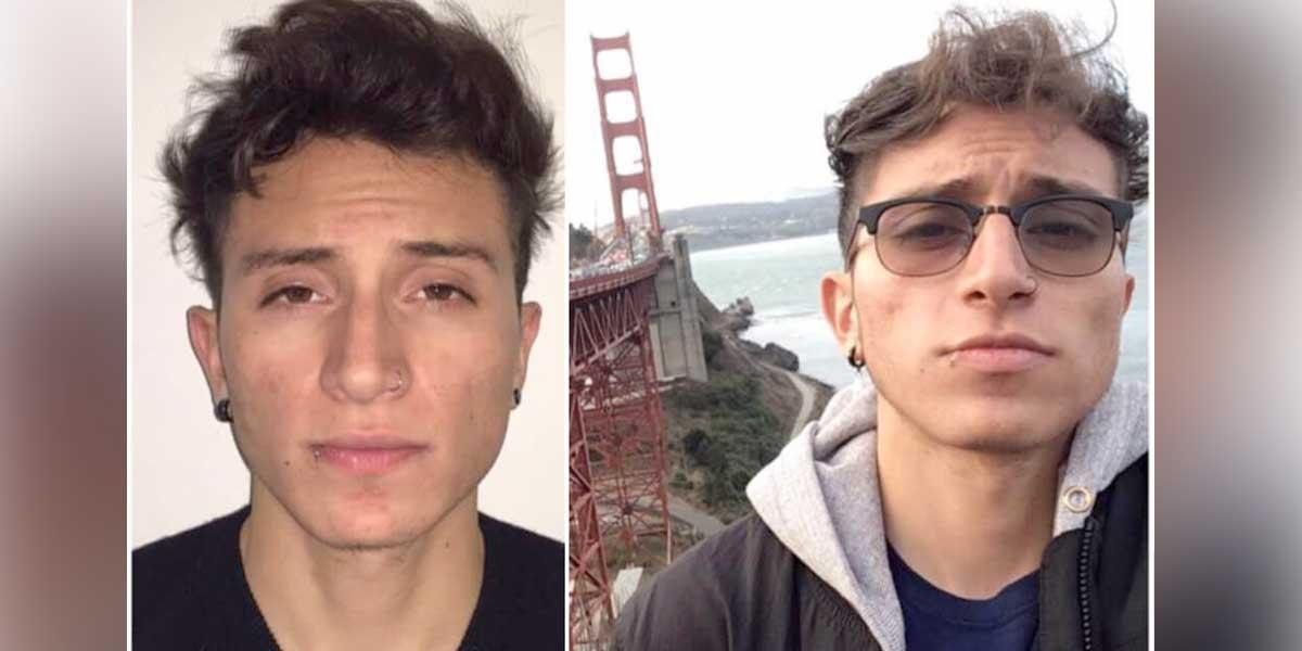 Estudiante colombiano lleva cinco días desaparecido en California, EE. UU.
