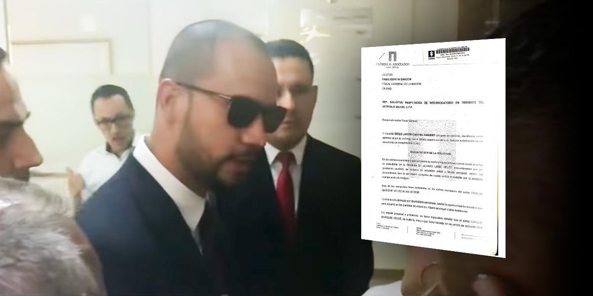 Abogado de Uribe pide ser escuchado en la Fiscalía por caso de manipulación de testigos