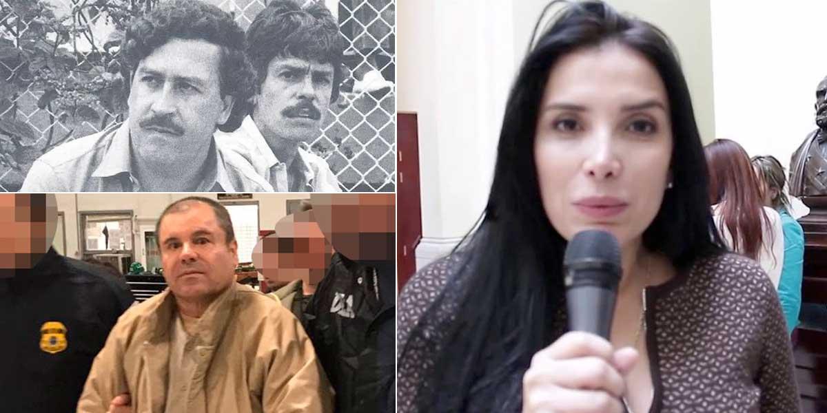Escobar, El 'Chapo' y ahora Aida Merlano, protagonistas de las fugas más extrañas y recordadas
