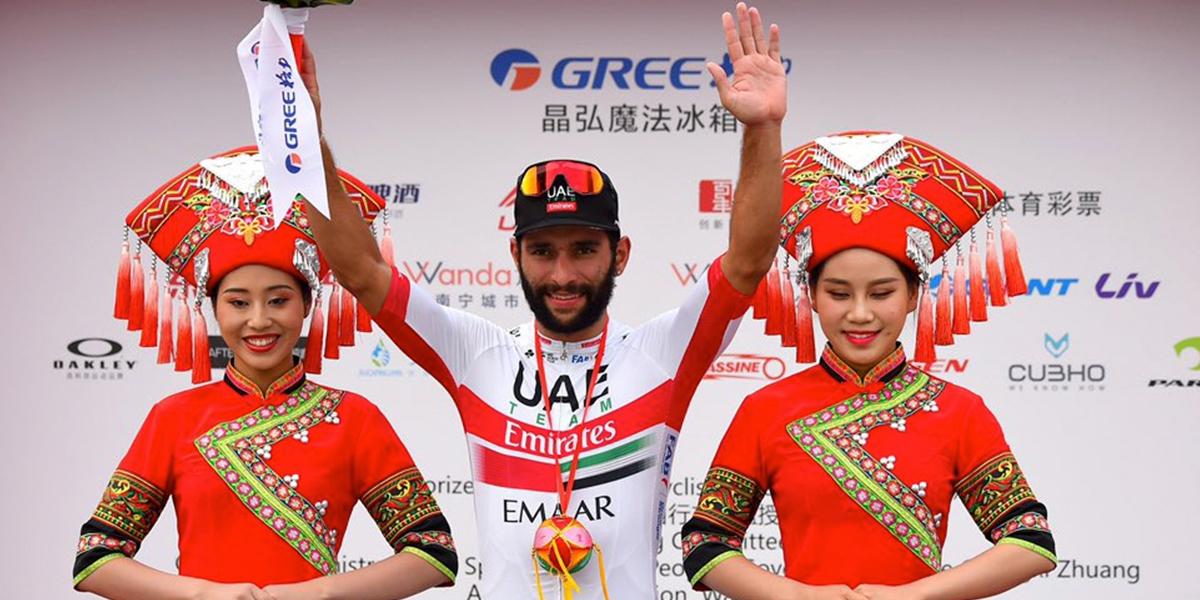 Fernando Gaviria gana la quinta etapa del Tour de Guangxi