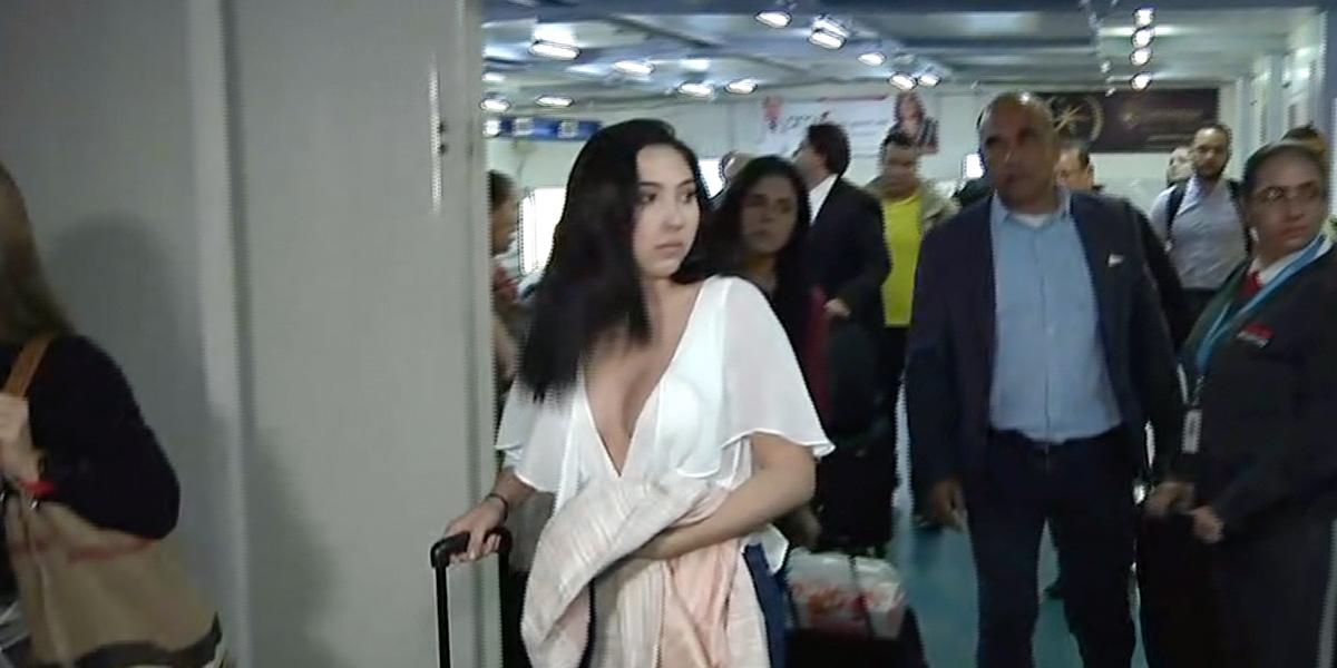 Llega a Barranquilla la hija de Aida Merlano luego de quedar en libertad por orden de una juez