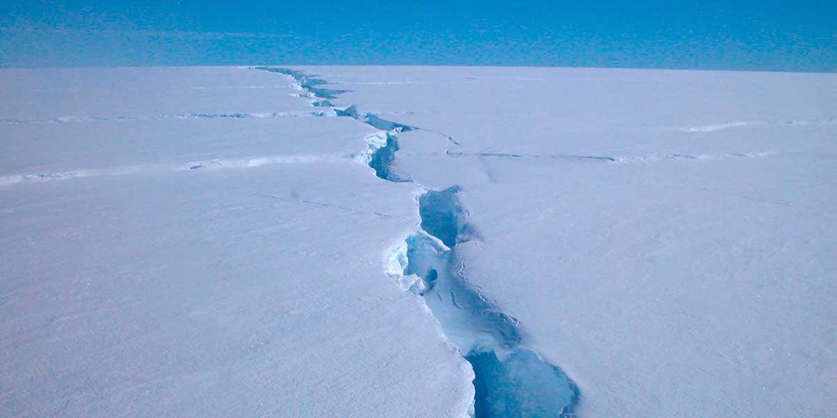 Se desprende de la Antártida un iceberg cinco veces el tamaño de la isla de Malta