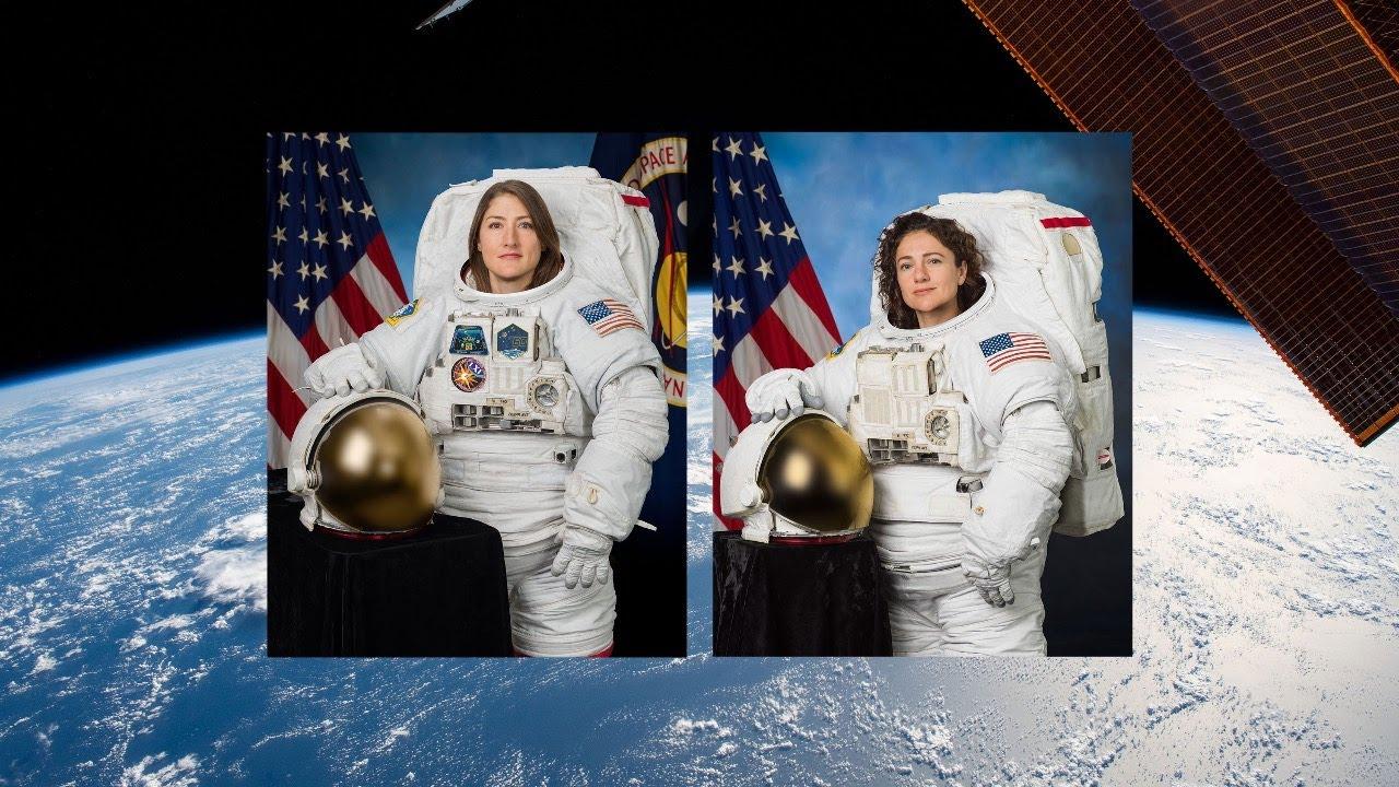 Primera caminata espacial exclusiva de mujeres