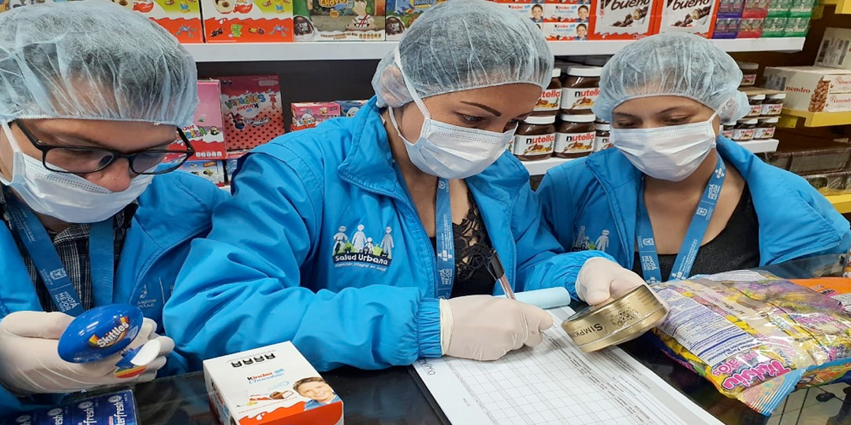 Por no cumplir las medidas sanitarias, decomisan 230 kilos de dulces en Bogotá