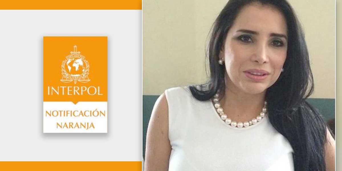 Interpol expedirá circular naranja contra Aida Merlano