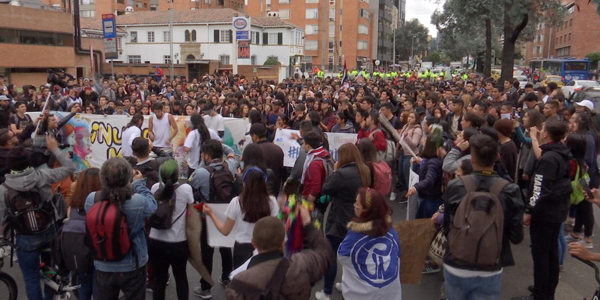 ¡Prepárese! Jueves de manifestaciones estudiantiles en Colombia
