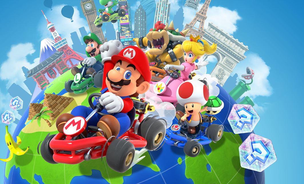 'Mario Kart Tour' se convirtió en el juego para móvil más descargado de Nintendo
