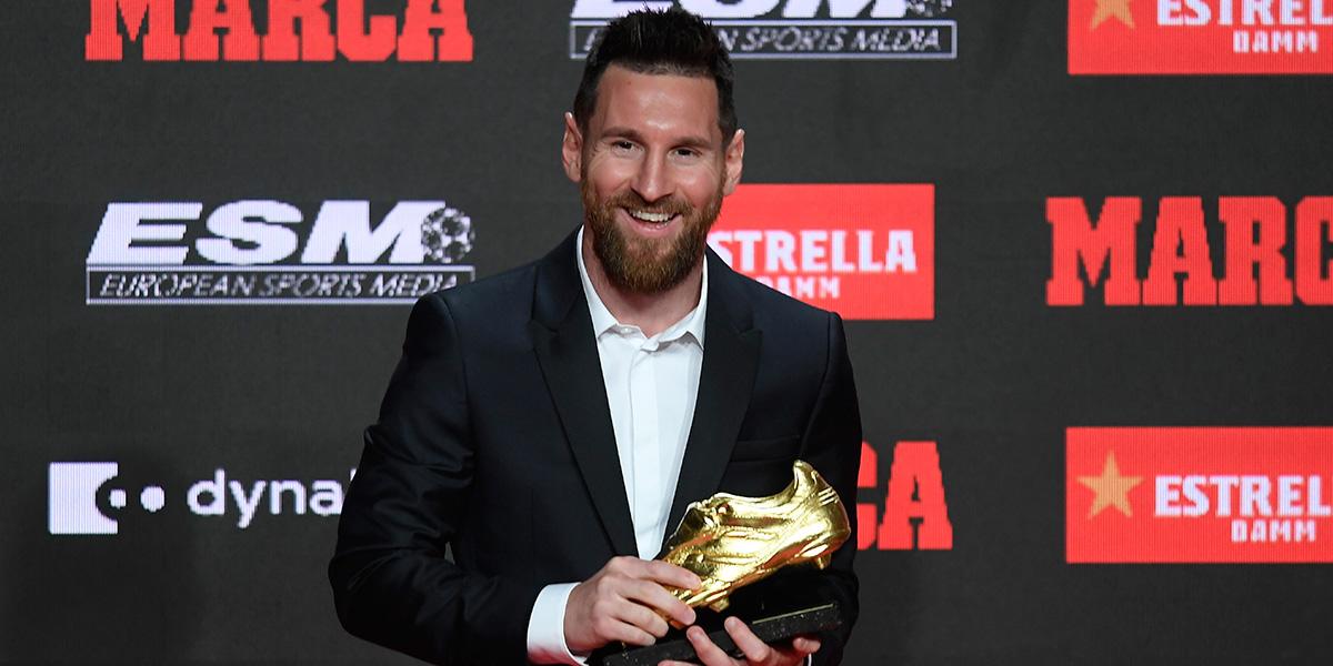 La leyenda sigue creciendo: Lionel Messi gana su sexta Bota de Oro