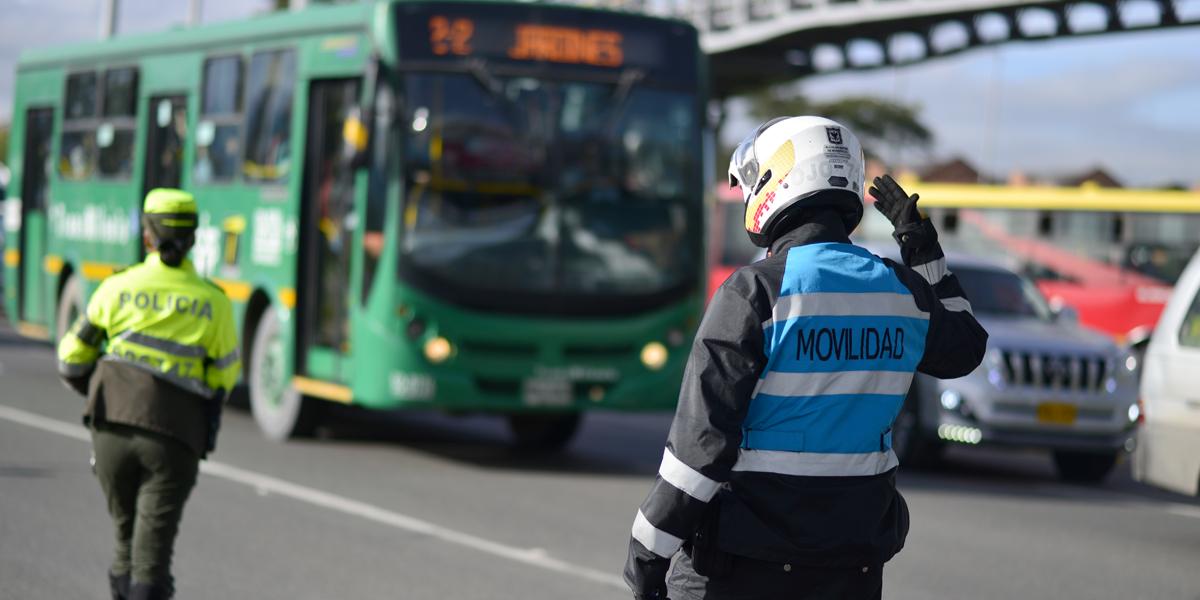 ¡Ojo! Estos son los cierres viales en Bogotá durante la jornada electoral