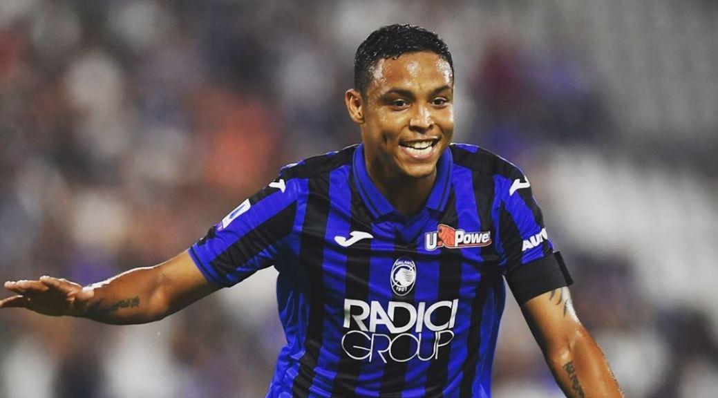 (Video) Muriel marcó doblete en el empate entre Atalanta ante Lazio