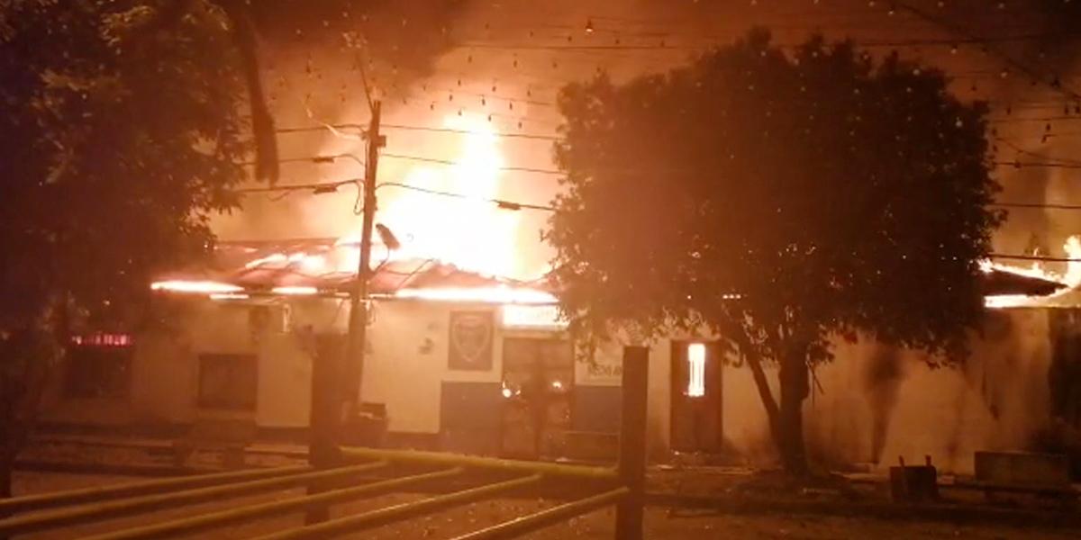 Disturbios por resultados electorales en Nechí, Antioquia, dejan seis personas capturadas