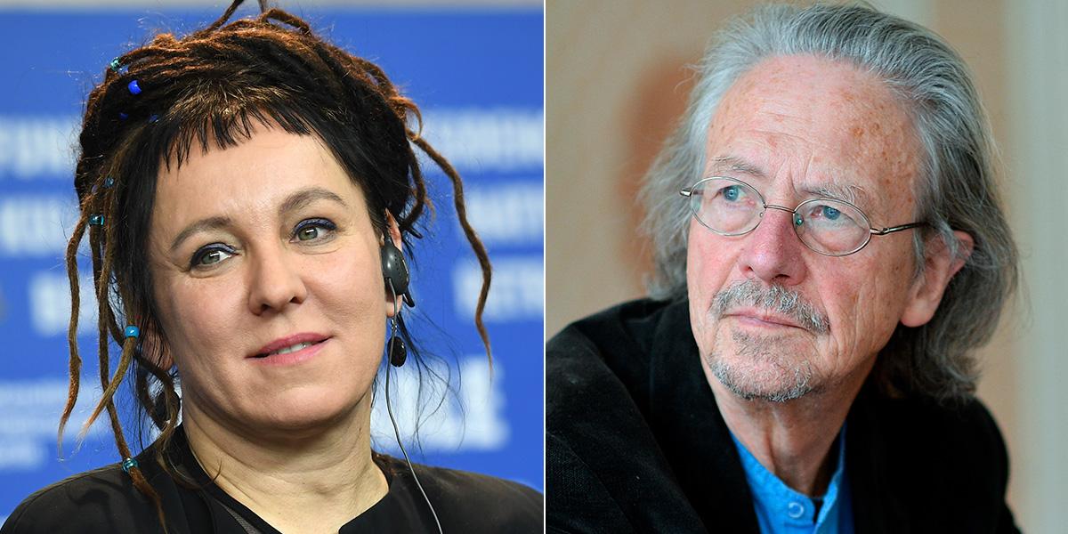 Olga Tokarczuk y Peter Handke son los ganadores del Nobel de Literatura de 2018 y 2019