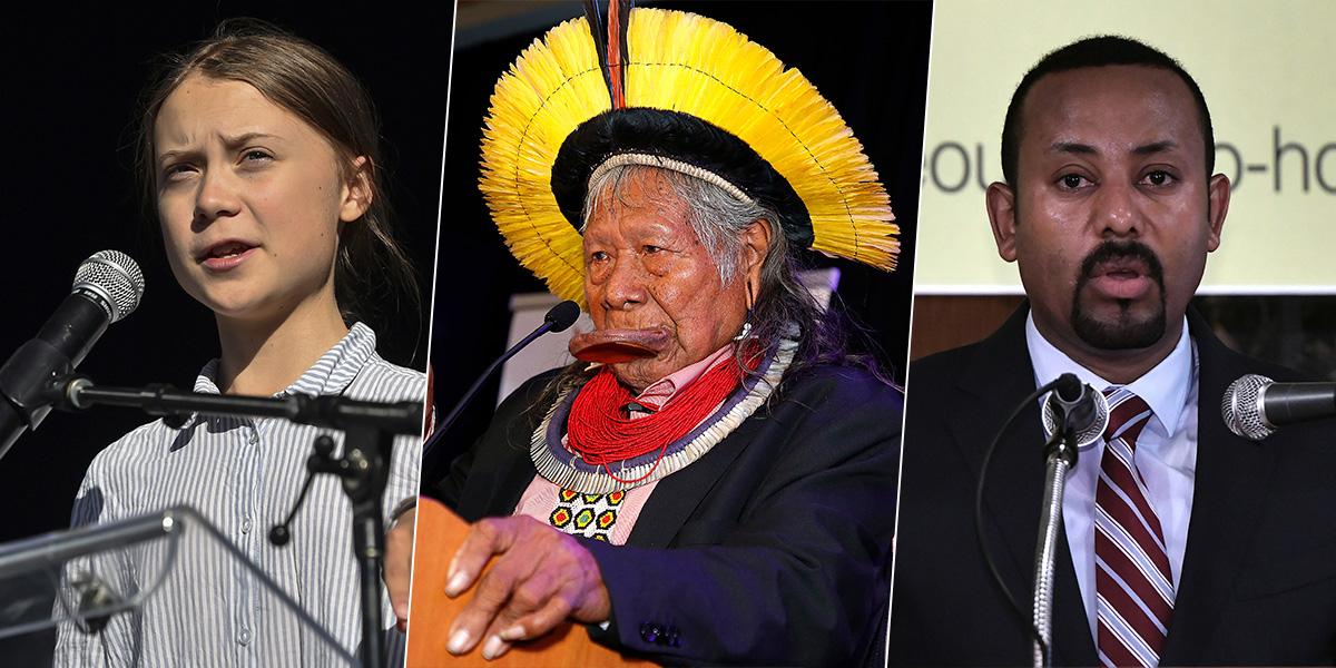 Greta Thunberg, indígena brasileño y líder etíope son los favoritos al Nobel de Paz