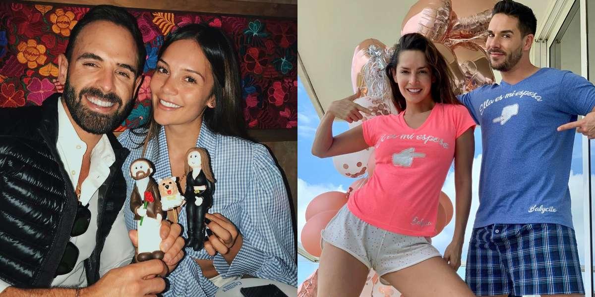 Lina Tejeiro y su novio les cumplieron un sueño a Carmen Villalobos y Sebastián Caicedo