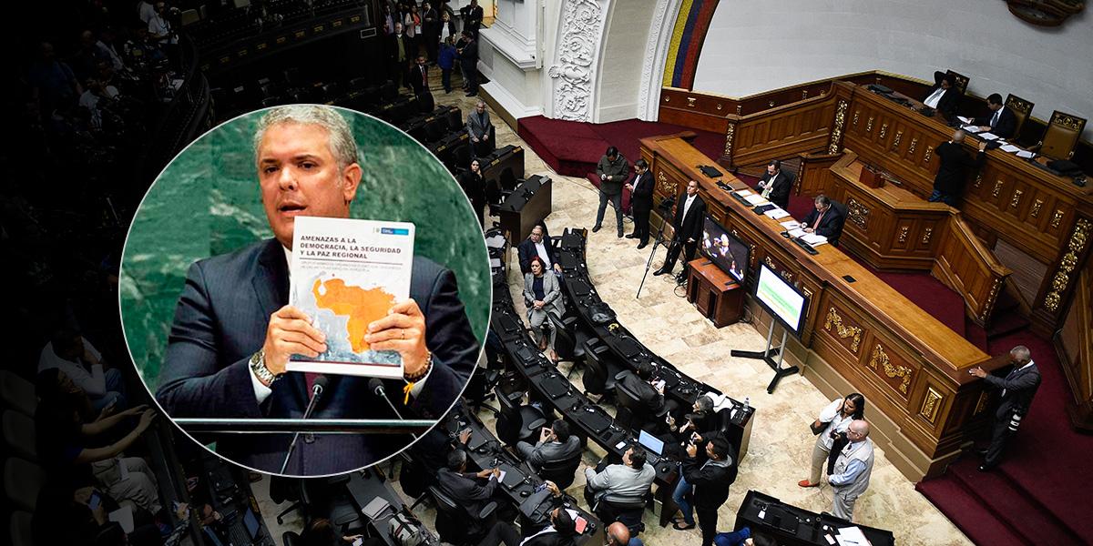 Parlamentarios opositores venezolanos respaldaron informe de Duque sobre apoyo de Maduro al ELN