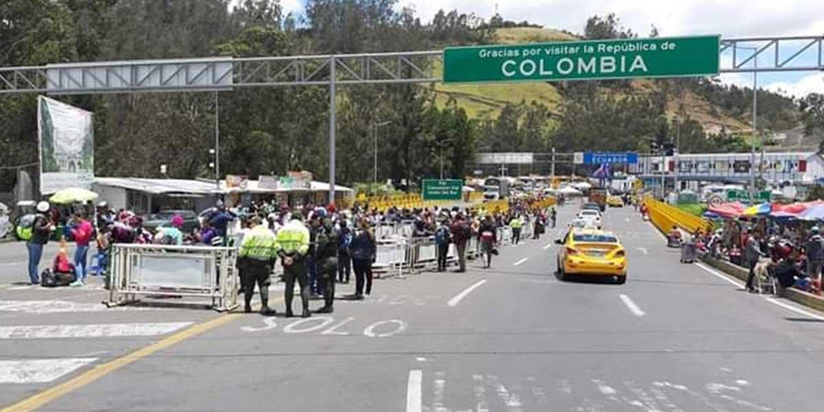 Principal cruce entre Ecuador y Colombia se reabre tras siete días de protestas