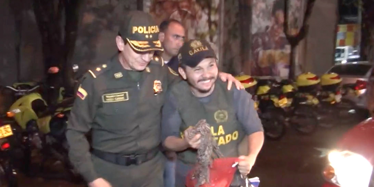 Rescatan al jefe de una campaña política que había sido secuestrado en el Valle