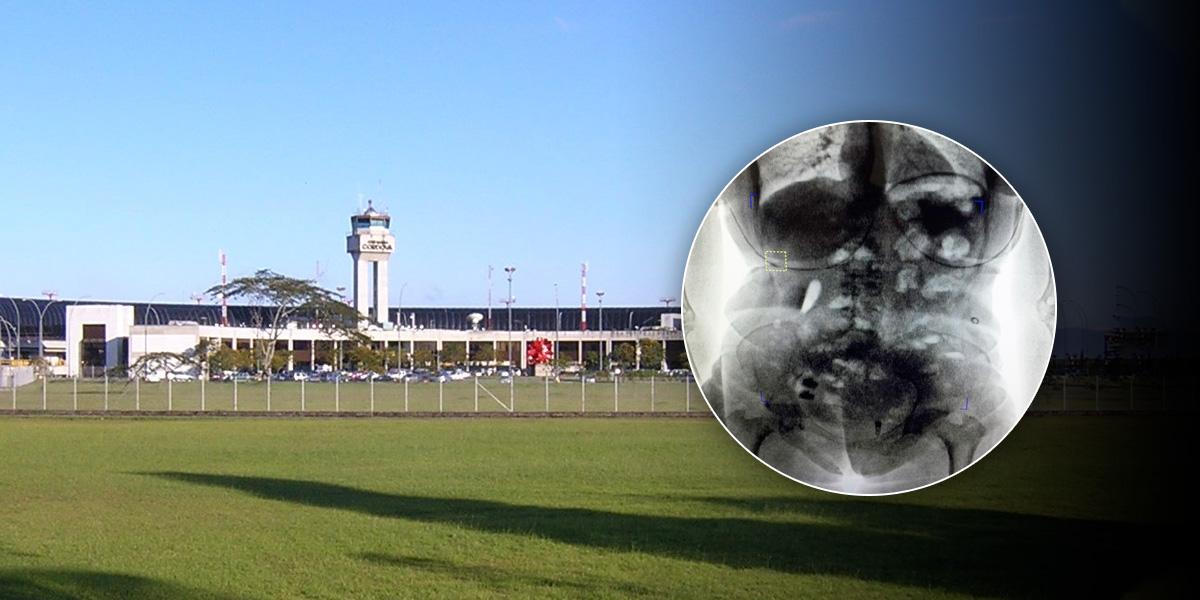 Aeropuerto de Rionegro, uno de los preferidos para traficar droga al exterior