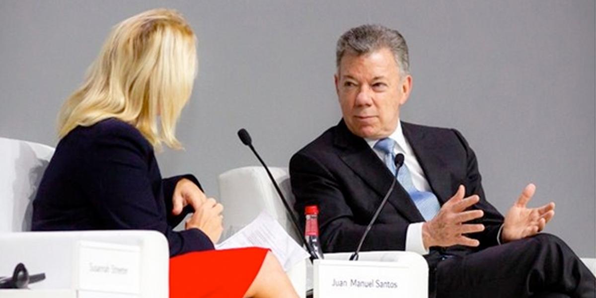 El cambio climático es «peor» que una guerra nuclear: Juan Manuel Santos
