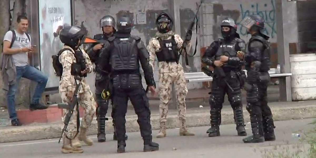Estudiantes de la Universidad del Atlántico denuncian atropello del Ejército