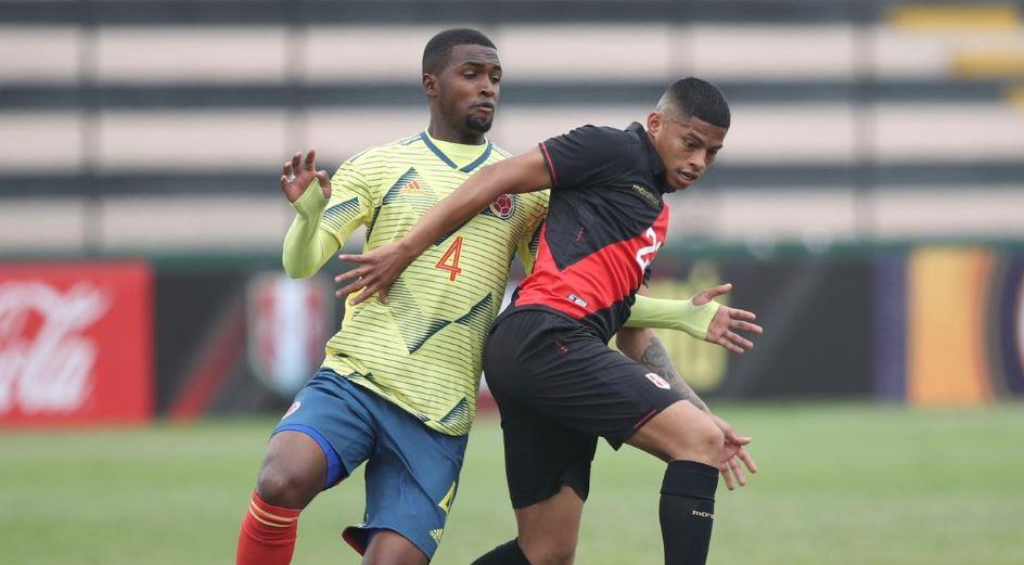 (Video) Selección Colombia Sub-23 cayó ante Perú en partido preparatorio