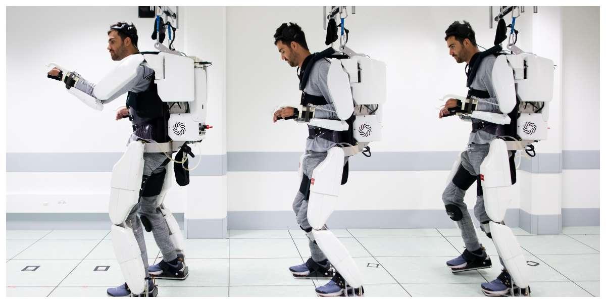 ¡Como Ironman! Tetrapléjico vuelve a caminar gracias a máquina conectada al cerebro