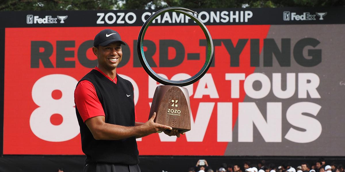 Tiger Woods volvió a hacer historia al ganar su título 82. Igualó un récord legendario